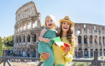 Voyage en famille à rome