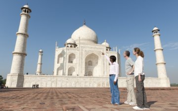 Voyage guide privé au Taj Mahal