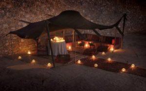 Tente sous les étoiles au Maroc