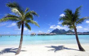 Lagon en Polynésie Française