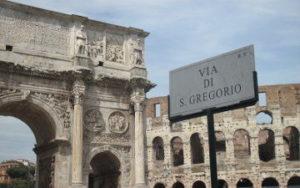Colisée de Rome en Italie