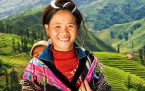 Femme au Vietnam