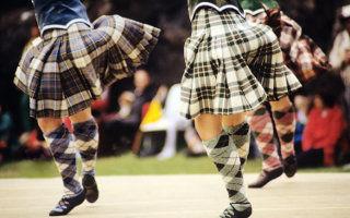 Voyage en Écosse - Kilt Écossais