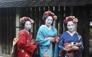 Voyage au Japon - Geishas à Maiko