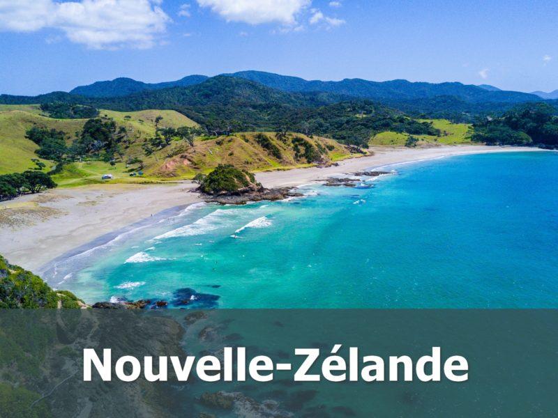 Voyage en Nouvelle-Zélande sur-mesure plage