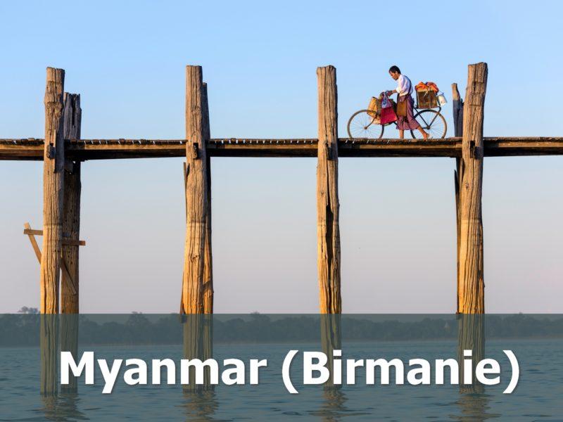 Voyage au Myanmar sur-mesure vélo