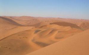 Dune rouge en Namibie
