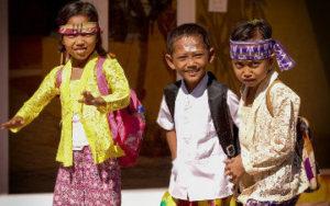 Enfants en indonésie
