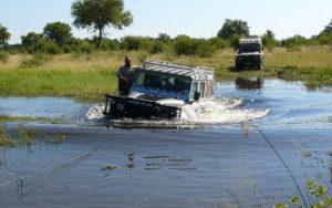 Safarie 4X4 au Botswana