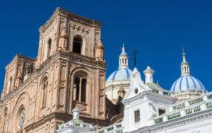 cathedrale Cuenca en Équateur