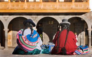 Femmes indiennes, Cusco au Pérou