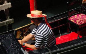 Voyage en Italie - Gondole à Venise
