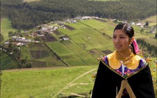Jeune femme des Andes - Voyage en Équateur
