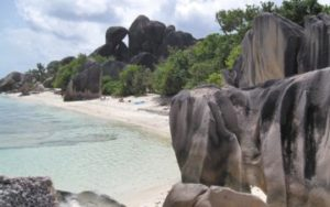 Le disque à Seychelles