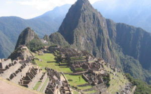 Macchu Picchu au Pérou