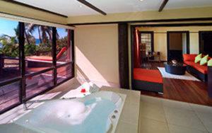 Chambre d'hotel aux îles Fidji