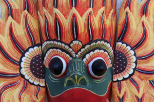 Masque traditionnel de Sri Lanka