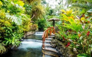 Eaux thermales Costa Rica