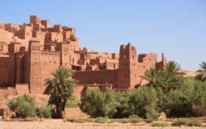 Ville fortifier de Ait ben Haddou au Maroc