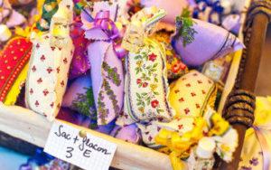 Sachets de lavande en Provence