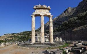 Delphi en Grèce