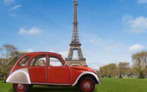 Voyage en France: Tour Eiffel à Paris