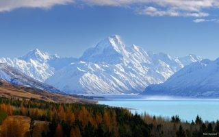 Voyage en Nouvelle-Zélande - Mont Aoraki