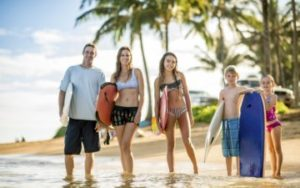 Voyage en famille de surf à Hawaii