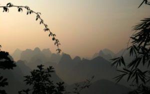 Voyage dans le sud de la chine, montagnes