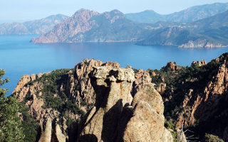 Voyage en Corse - Calanche piana