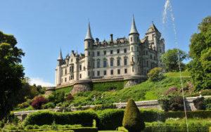 Chateau en écosse