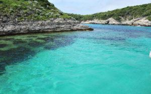 borde de la mer en Corse