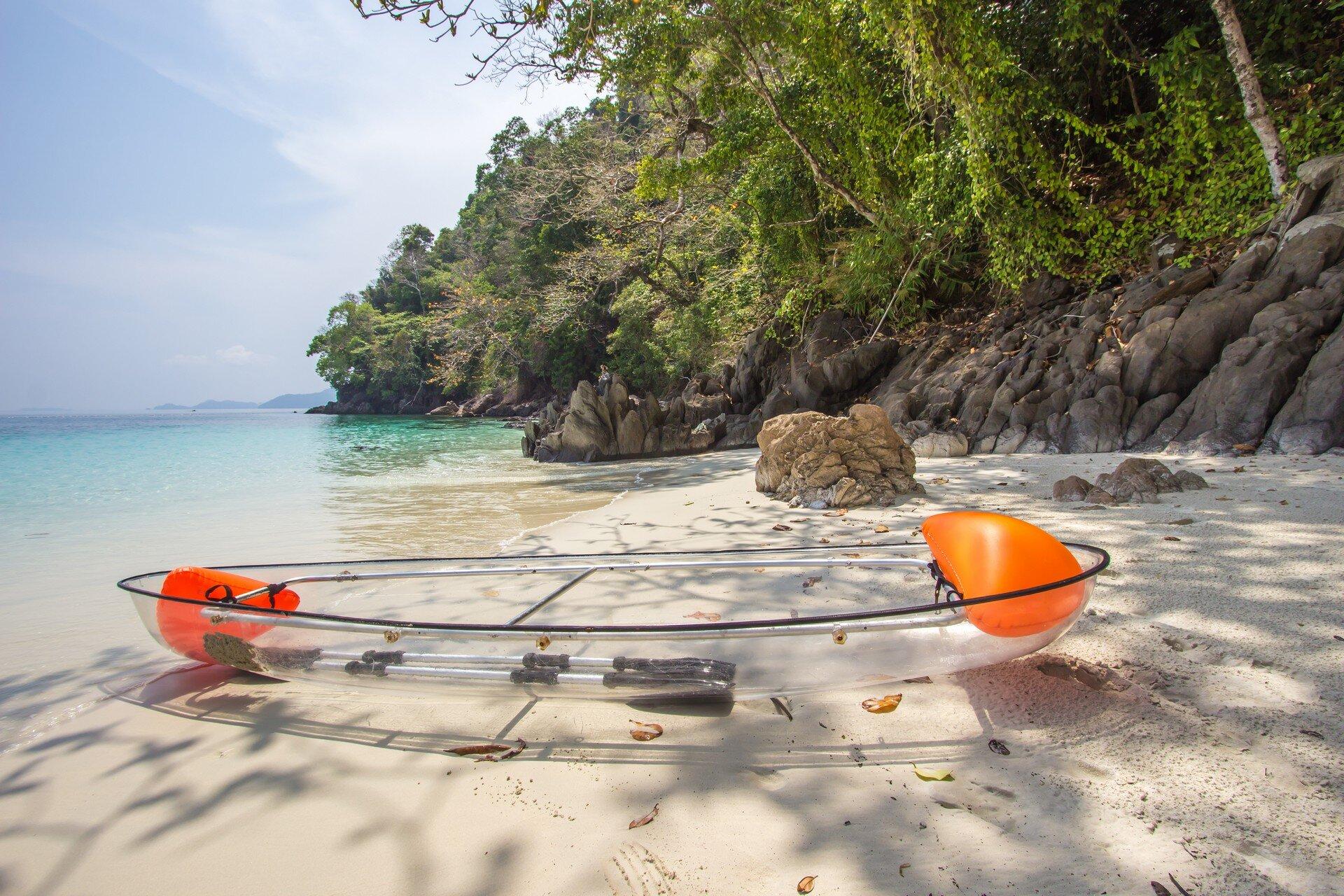 La réunion insolite en kayak