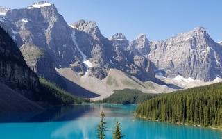voyage Canada sur-mesure Rocheuses Lac Moraine