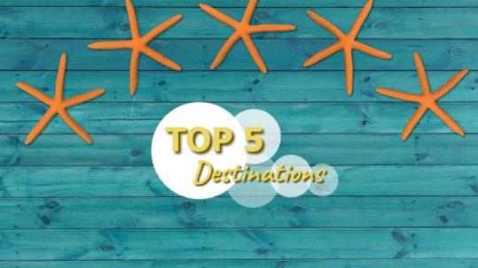 Top 5 destinations à visiter en septembre