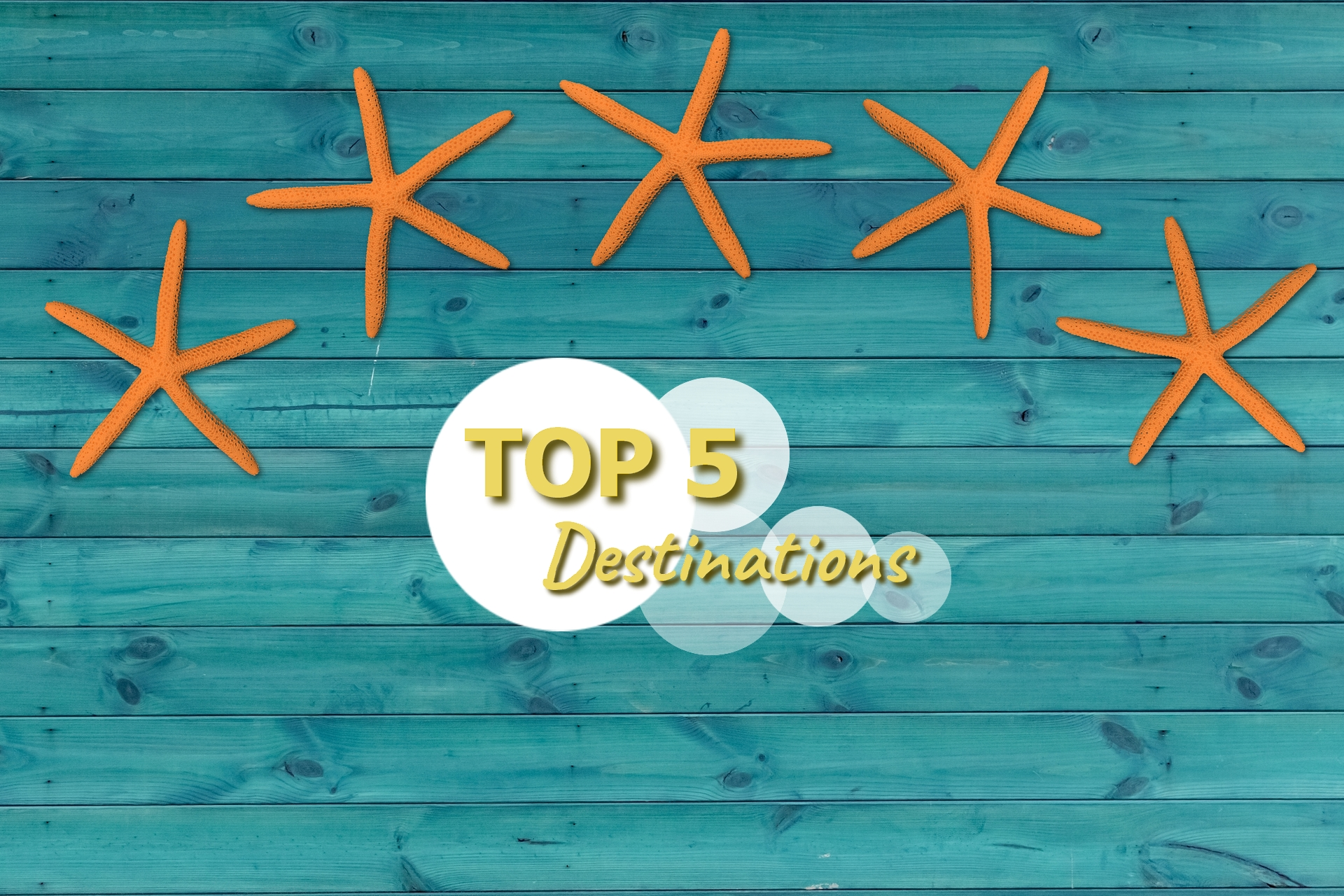 Top 5 destinations à visiter en septembre
