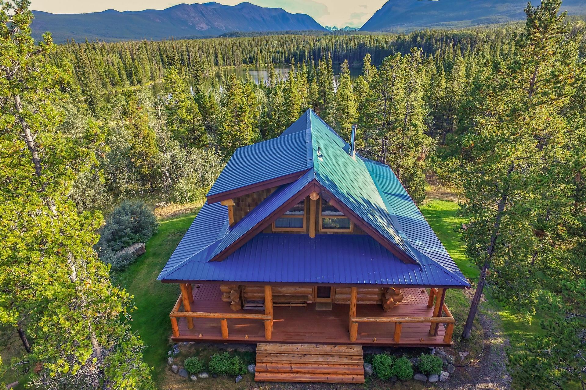 Chilko lake lodge d'exception Colombie Britannique