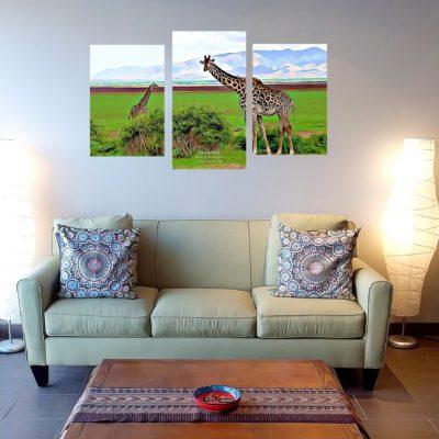 Girafe triptyque_agence