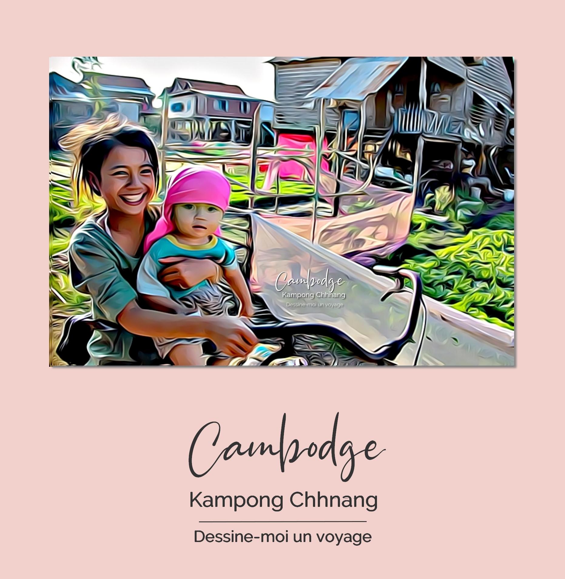 Tableau personnalisé paysage Cambodge